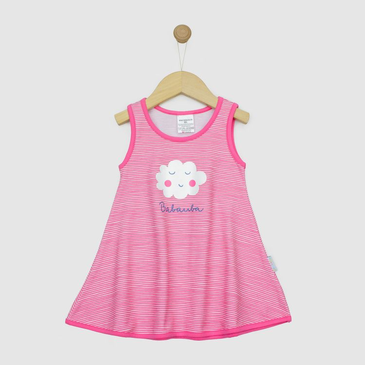 Hero-LittleMissSunshine-Dress SpringClouds-StripesEdition
