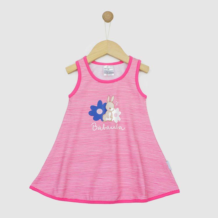 Hero-LittleMissSunshine-Dress HoppingBunnies-StripesEdition