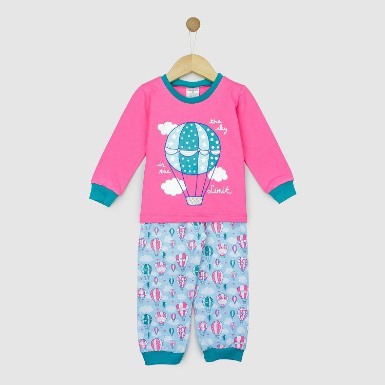 Motiv-Pyjama-Set  BalloonsInTheSpring