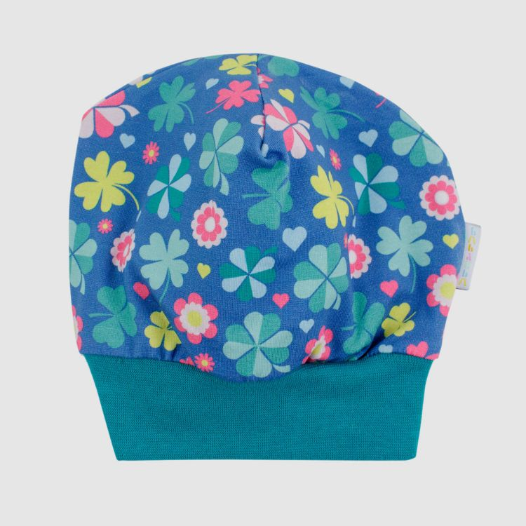 Baby-Beanie - ColorfulCloverLeaves