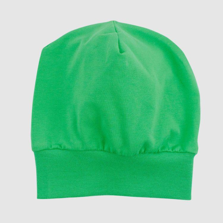 Uni-Beanie Grasgrün