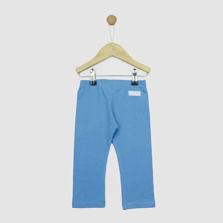 Baby-Uni-SkinnyPants - Rauchblau