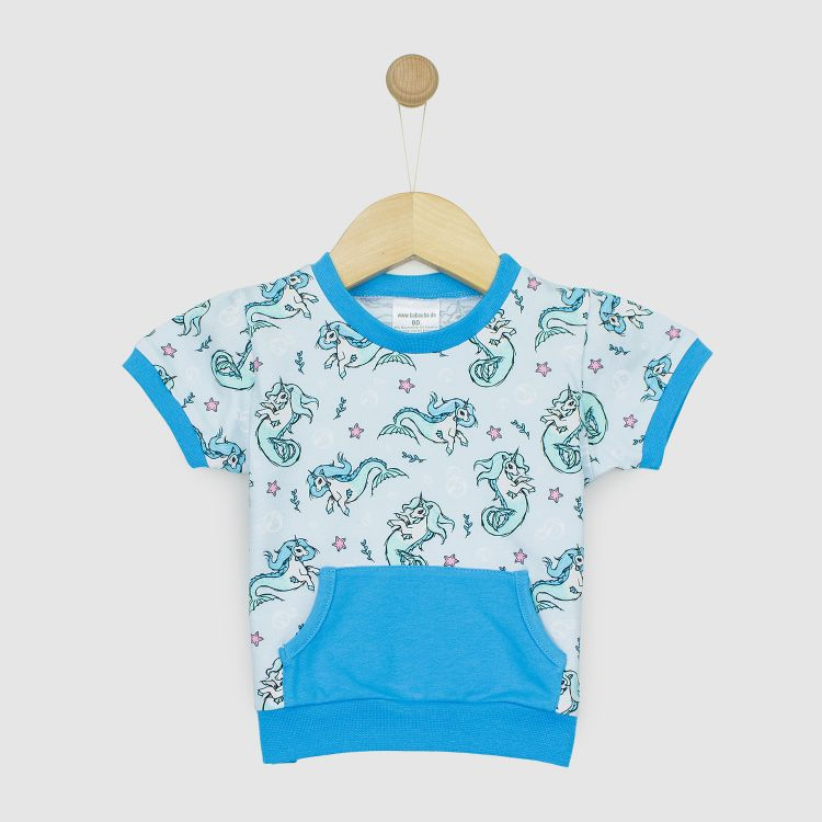 Baby-PocketShirt - SeaUnicorns