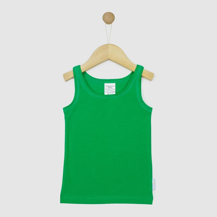 Baby-Uni-Undershirt - Waldgrün
