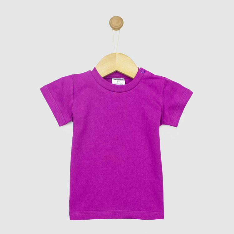 Uni-T-Shirt Aubergine
