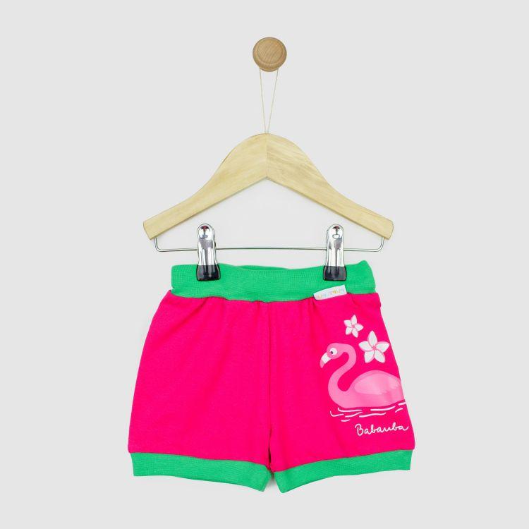 Motiv-Basicshort FlamingoFun