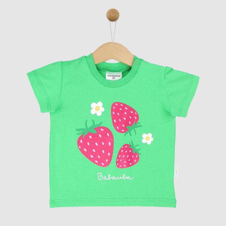 KurzarmShirt Hero SweetStrawberries-Grasgrün