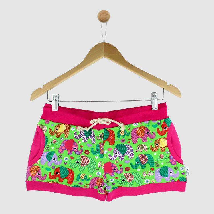 Woman-Shorts BabaubaFantiGirl-Green