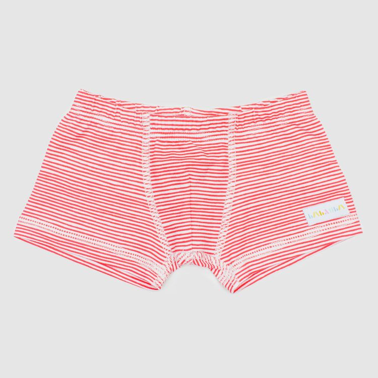 Boxershorts Stripes-RedWhite