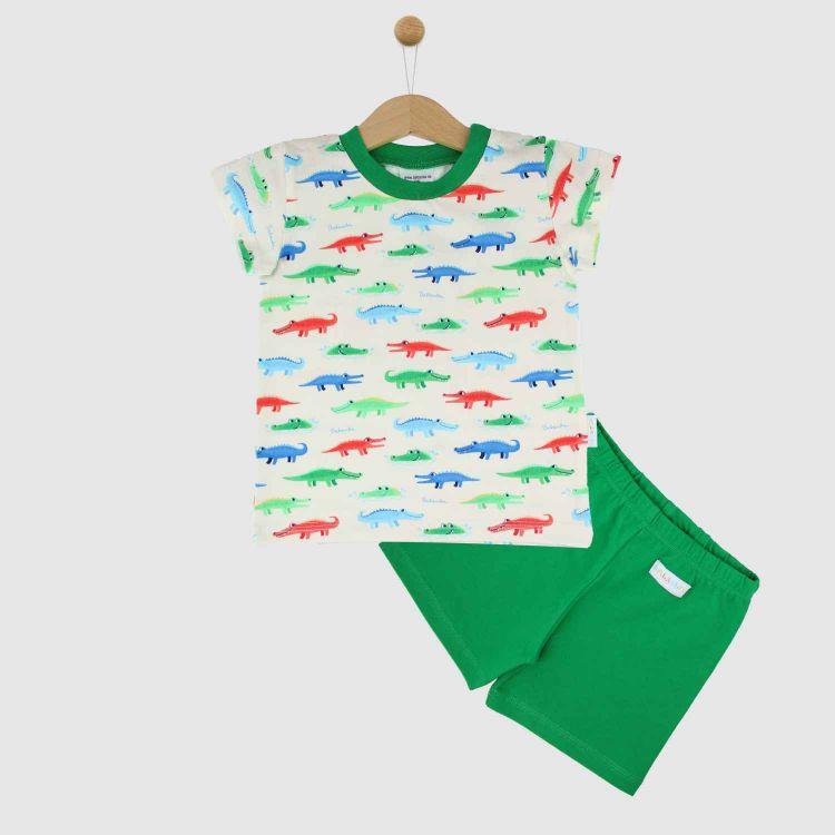 Pyjama-Set-Shortstyle FunnyCrocos