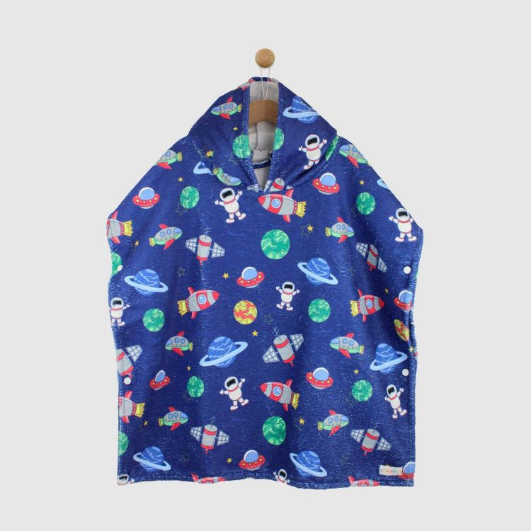 Badeponcho OuterSpace