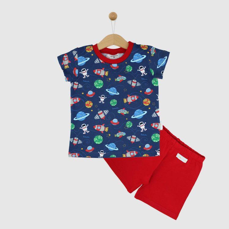 Pyjama-Set-Shortstyle OuterSpace