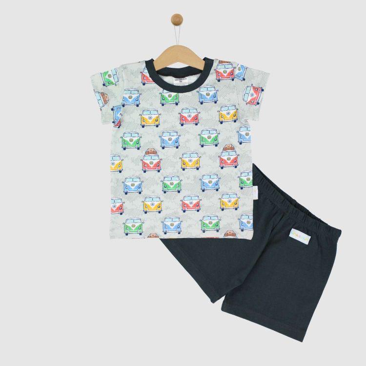 Pyjama-Set-Shortstyle HappyHippieBus