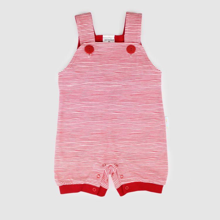 Kurzlatzhose Stripes-RedWhite