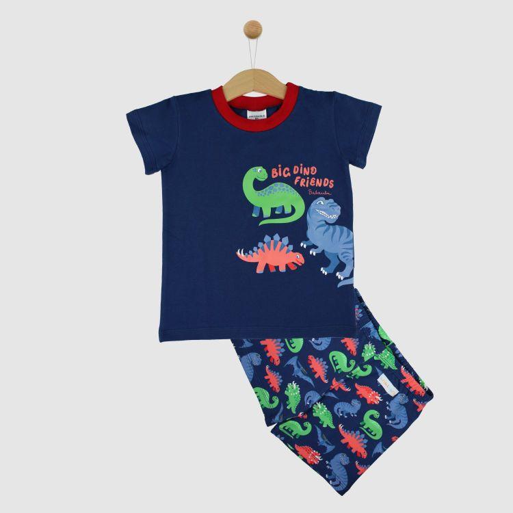 Motiv-Pyjama Set-Shortstyle JurassicFriends