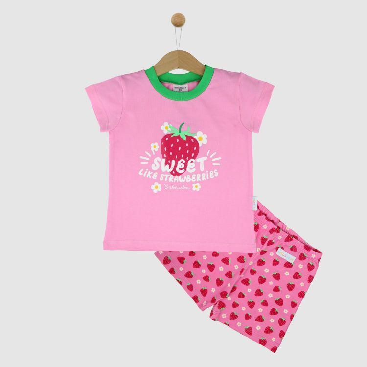 Motiv-Pyjama Set-Shortstyle SweetStrawberries