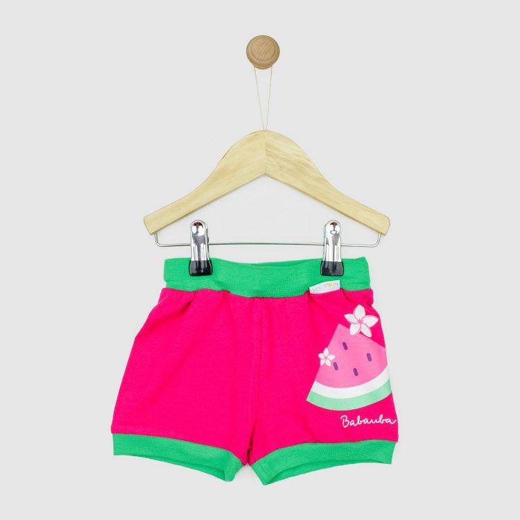 Motiv-Basicshort FlamingoFun-WatermelonEdition