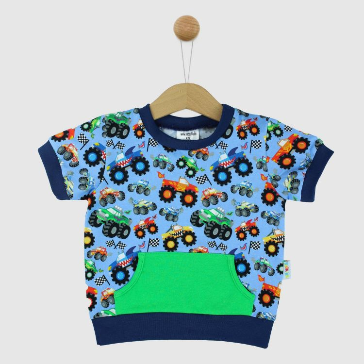 PocketShirt BabaubaMonstertrucks