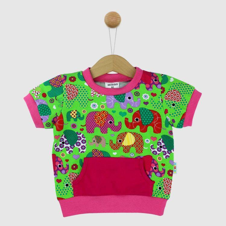 PocketShirt BabaubaFantiGirl-Green
