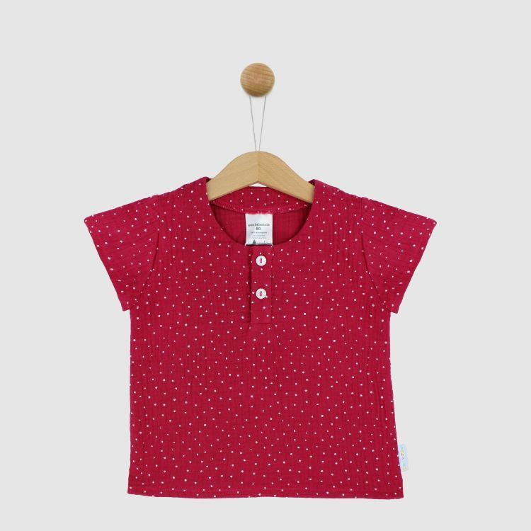 Musselin-Shirt PinkDots