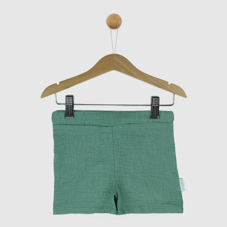 Musselin-Short Mintgreen