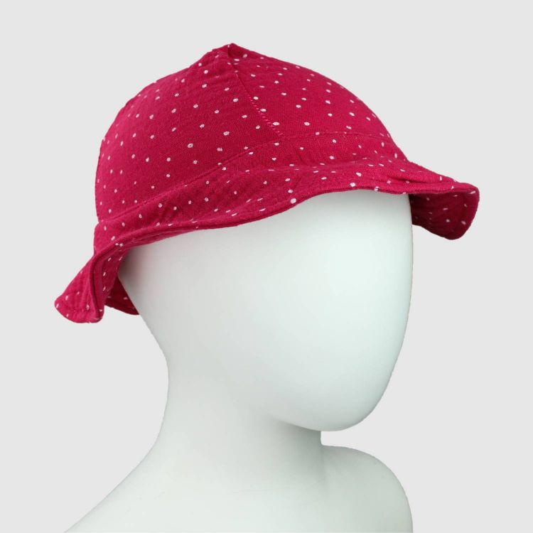 Musselin-CoolHat PinkDots