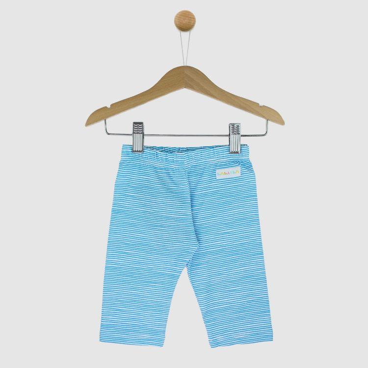 Capri-SkinnyPants AquaStripes