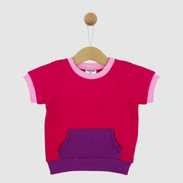PocketShirt-ColourBlock Cyklame