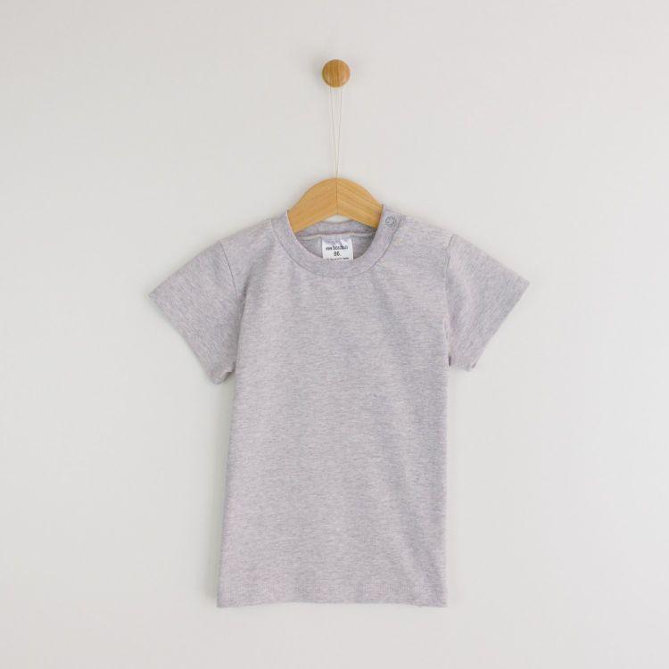 Uni-T-Shirt Grau-Meliert