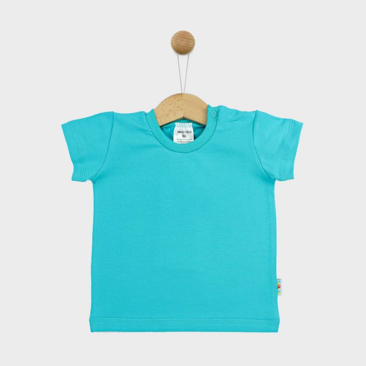Uni-T-Shirt Türkisgrün