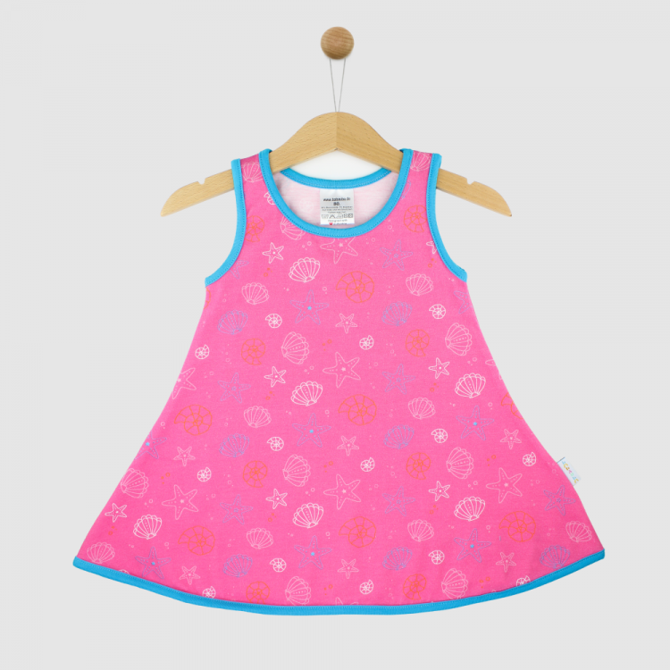 LittleMissSunshine-Dress PinkShells