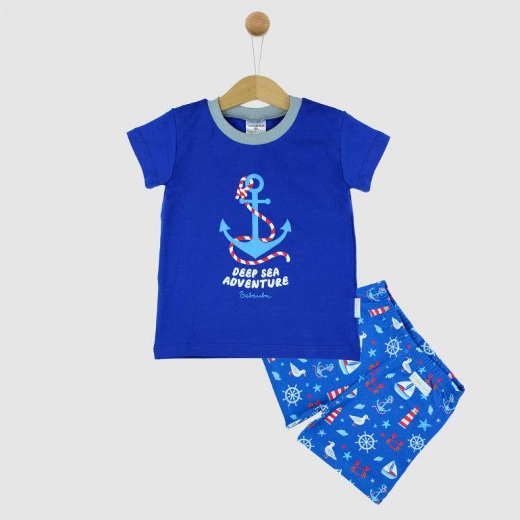 Motiv-Pyjama Set-Shortstyle SailWorld