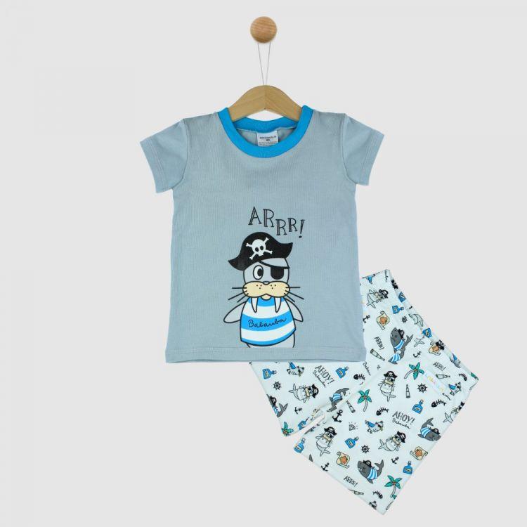 Motiv-Pyjama Set-Shortstyle AhoyPirates
