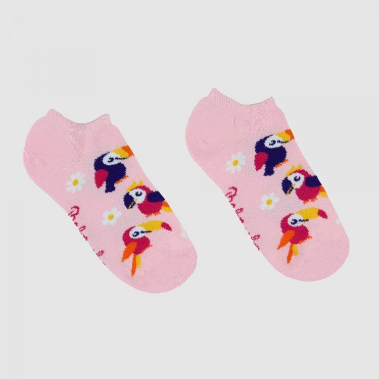 Sneaker-SockiSocks HappyParrots