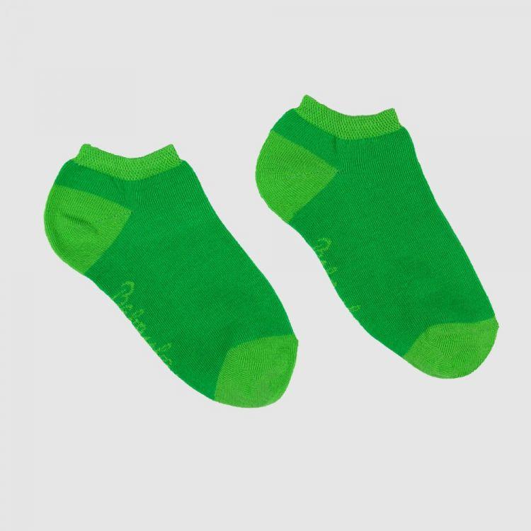 Uni-Woman-Sneaker-SockiSocks Waldgrün