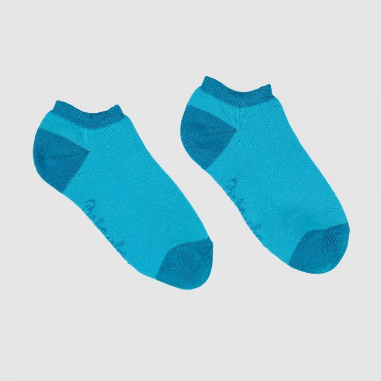 Uni-Sneaker-SockiSocks Türkisblau