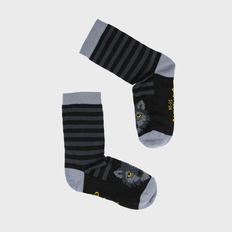 SockiSocks BlackWolf-StripesEdition