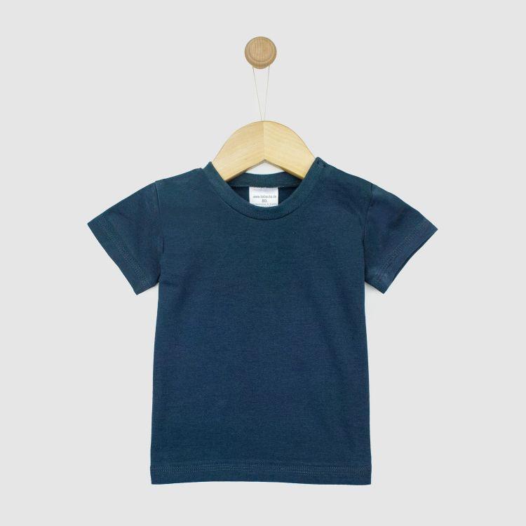 Uni-T-Shirt Dunkelgrau