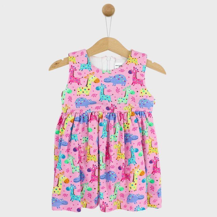 Festliches Kleidchen LittleSafari-Pink