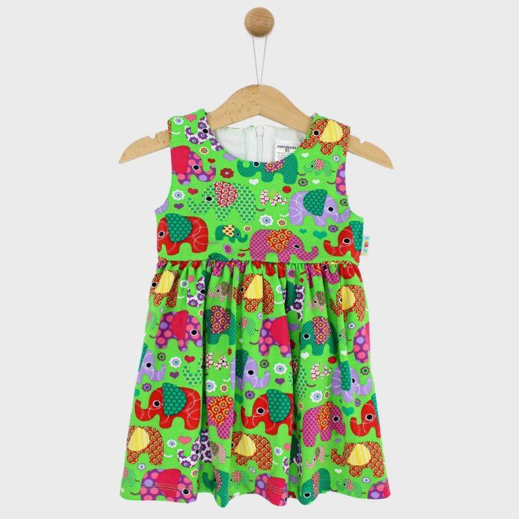 Festliches Kleidchen BabaubaFantiGirl-Green