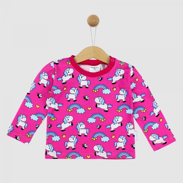 Langarmshirt-Extreme ChubbyUnicorns-Pink