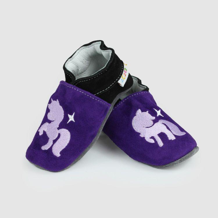 Lederpuschen PurpleUnicorn