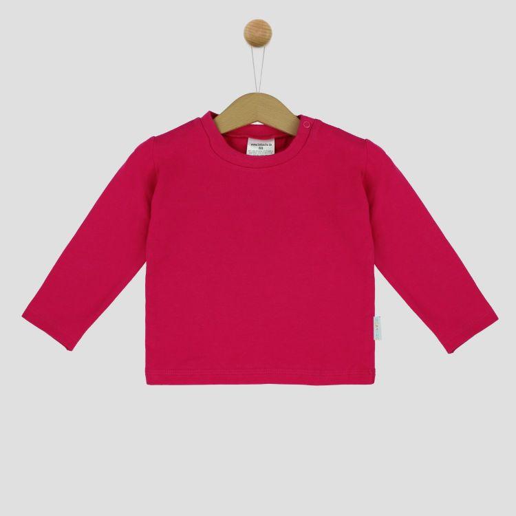 Uni-Langarmshirt Cyklame