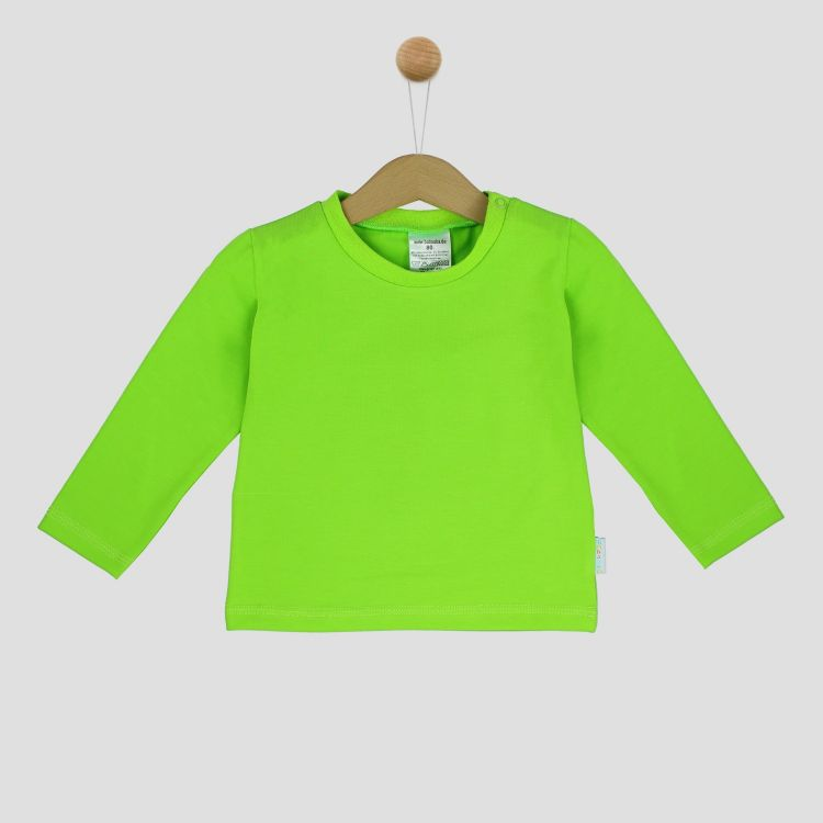 Uni-Langarmshirt Kiwi