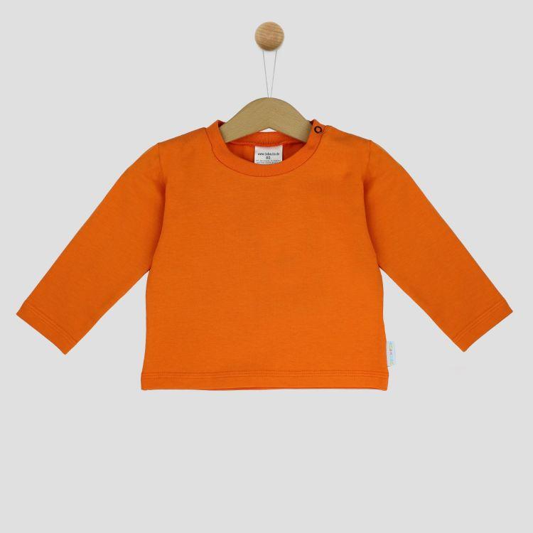 Uni-Langarmshirt Orange