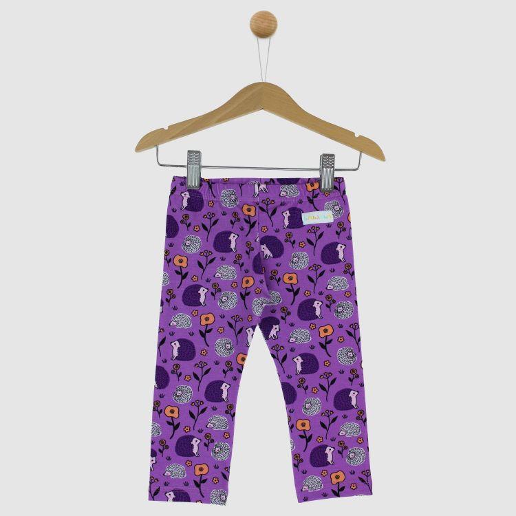 SkinnyPants SweetHedgehogs-Purple