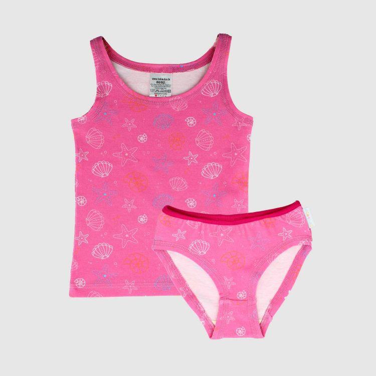 Underwear-Set-Girls PinkShells