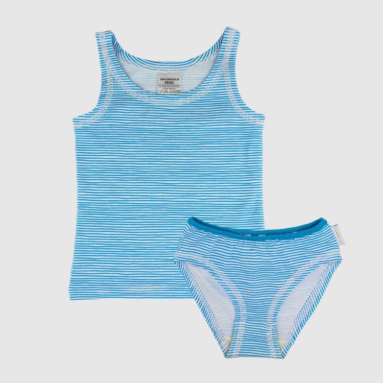 Underwear-Set-Girls AquaStripes