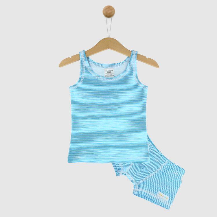 Underwear-Set-Boys AquaStripes
