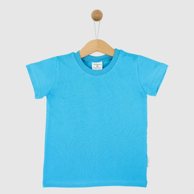 Uni-T-Shirt Türkisblau